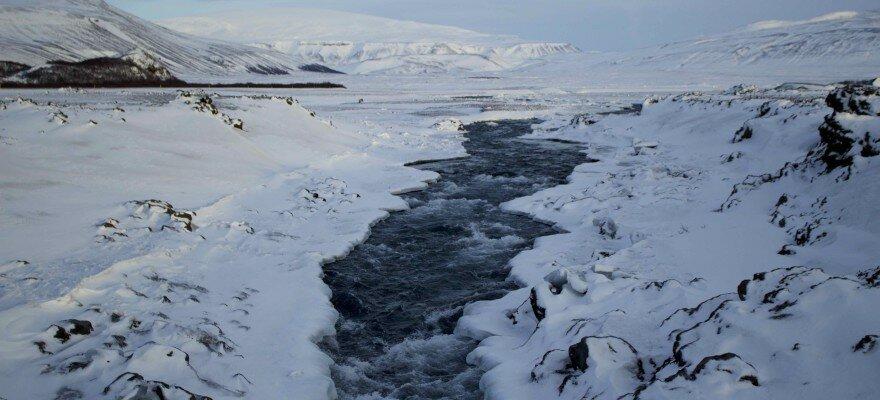 Blog Islande, glacier Langjökull, couleurs d'hiver