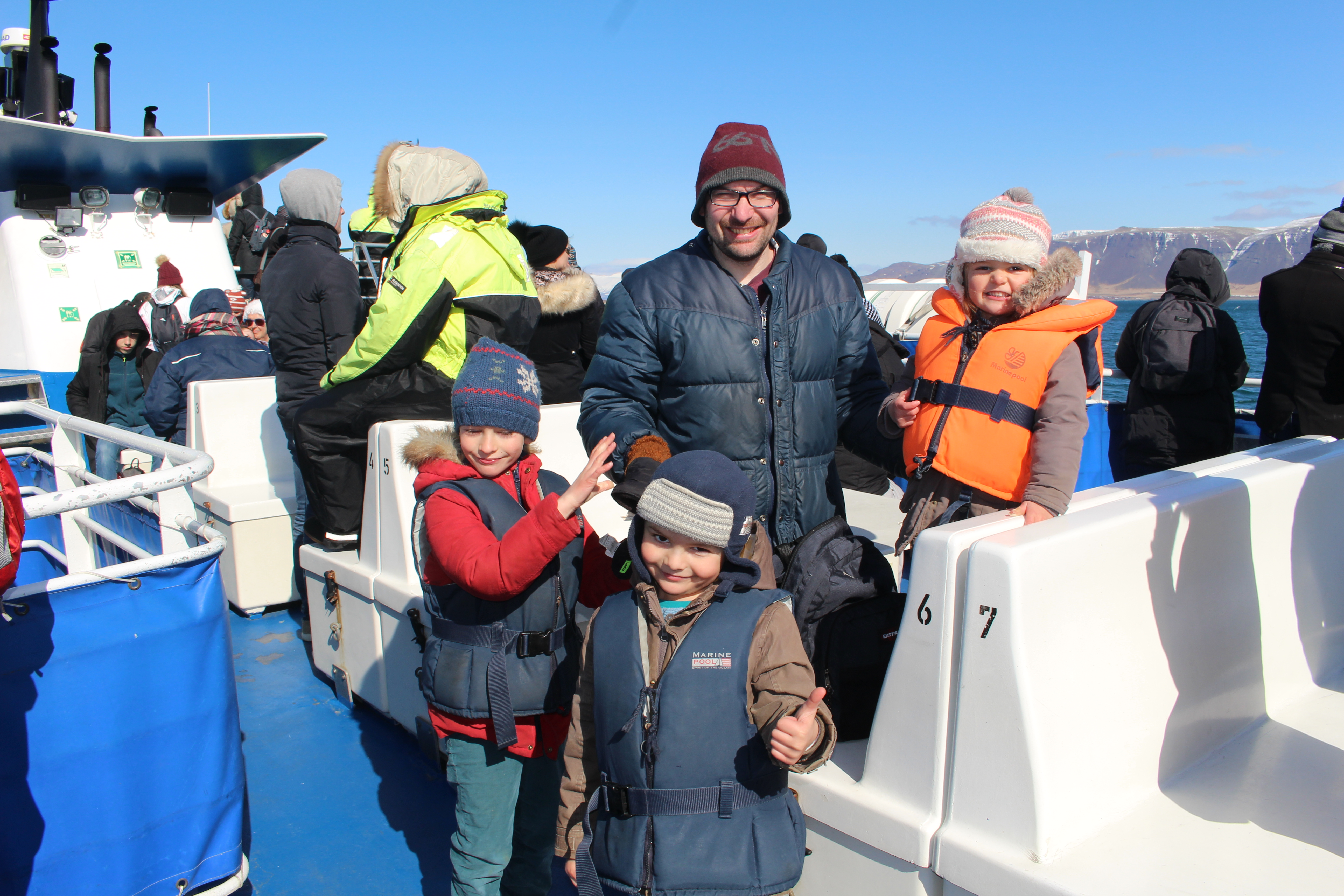 Blog voyage Islande | Famille Puffin au whale watching