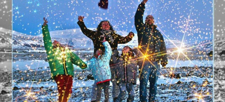 Blog Islande - Voeux 2018 de la Famille Puffin