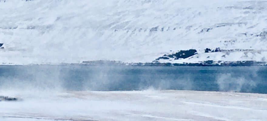 Blog Islande - Tempête en hiver